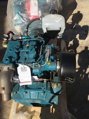 Lister Petter - LPWS2 - Direct Injection Marine Engine