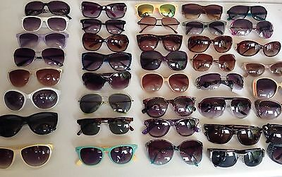 WHOLESALE JOB LOT ~ 12 PAIRS OF VINTAGE SUNGLASSES each Lot Varies
