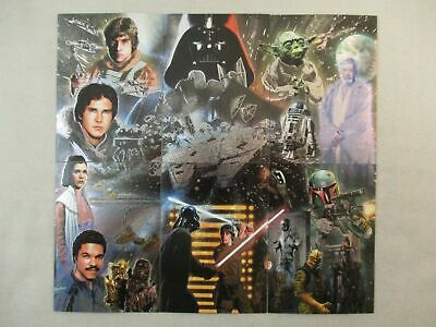 Complete Set of 6 Etched Foil Cards STAR WARS GALAXY SERIES 5 Topps 2010