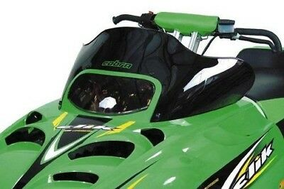 Powermadd Cobra Logo Windshield 10.25in for Arctic Cat Panther 660 Trail 06-07
