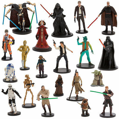 Mega Figure Play Set ~ Disney Star Wars 20 piece Figurine Set Grievous 2017 NEW