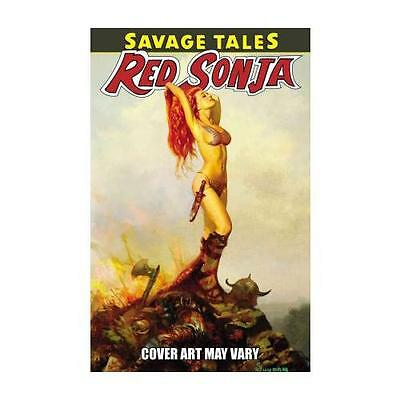 Savage Tales Of Red Sonja by Michael Avon Oeming (author), Christos Gage (aut...
