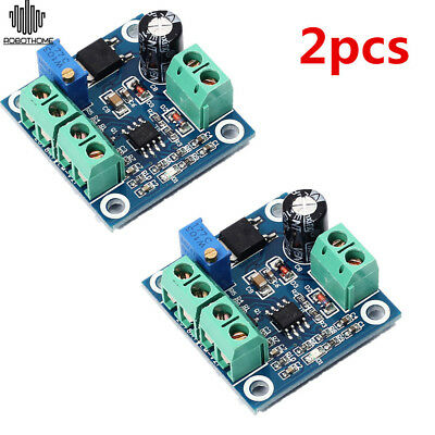 2pc Frequency 0-1KHz To 0-10V Digital To Analog Voltage Signal Voltage Converter