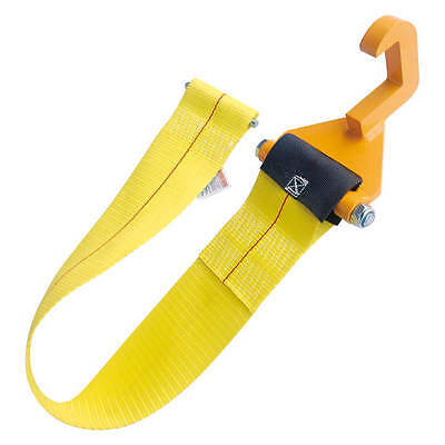 """4"""" x 3' Tow Hook Roll Off Container Winch Strap Assembly"""