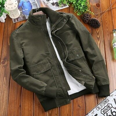 Mens Military Winter Warm Fur Lined Jacket Tactical Outdoor Casual Thicken Coats