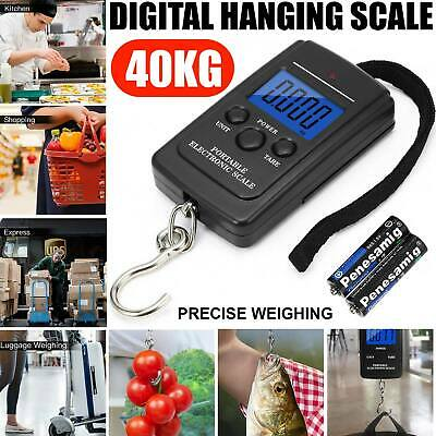 Portable Digital LCD Handheld Luggage Baggage Suitcase 50KG Weight Scale Measure