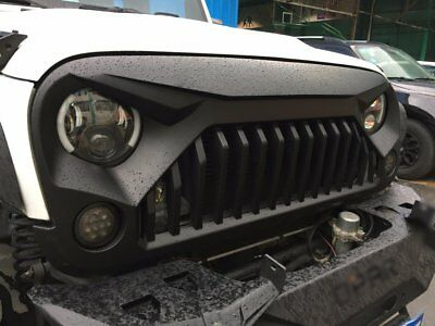 2018-2007 Angry Bird Jeep Wrangler Grill Grille for JK Rubicon Sahara Unlimited