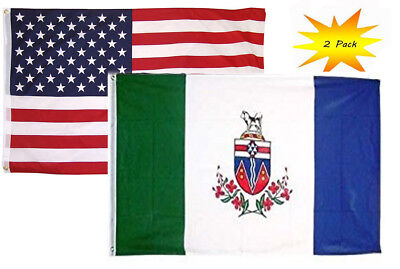 Large High Quality Canada Provinces Flag Banner 2/'X3/' 3/'X5/' 3/'X6/' Indoor//Outdoor