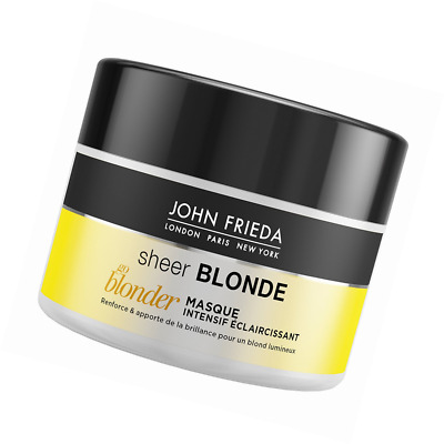 JOHN FRIEDA Sheer Blonde Go Blonder Masque Intensif Éclaircissant 250 ml