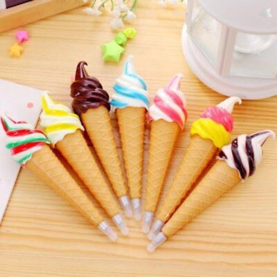 Creative Ice Cream Cute Ballpoint Pen Student Office Stationery Funny Pen Gift