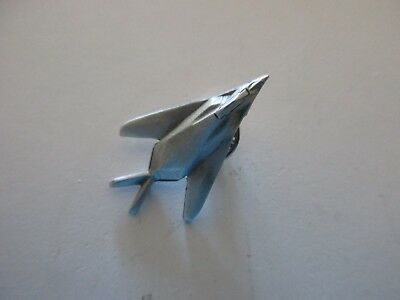 Pewter F-117 Stealth Jet Lapel Pin  NEW & MINT