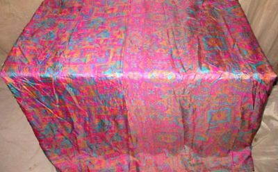 Multi-color Pure Silk 4 yard Vintage Sari Hip reliable seller London Sale #G22AX