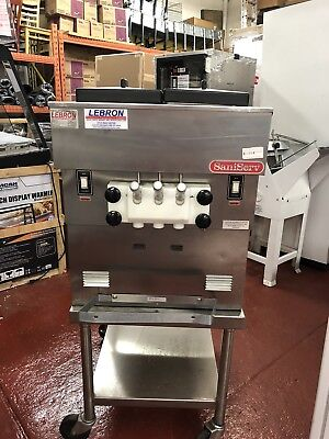 Saniserv A5011P Counter Top Soft Serve Machine Single Phase - 208- 240 NEW