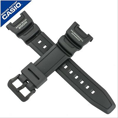 Genuine Casio Watch Strap Band for SGW-100 SGW-100H SGW 100 100H BLACK 10304195