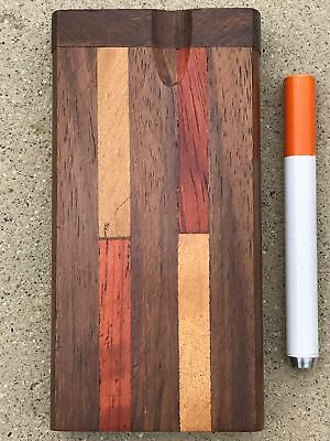 High Quality Hardwood inlay Wood Dugout / Swift Box + FREE 1-hitter Aluminum Bat