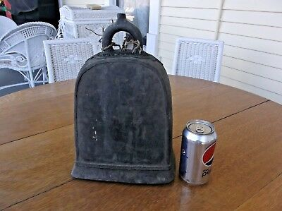 1800s Large Antique Bronze Elephant Bell Thailand Asian