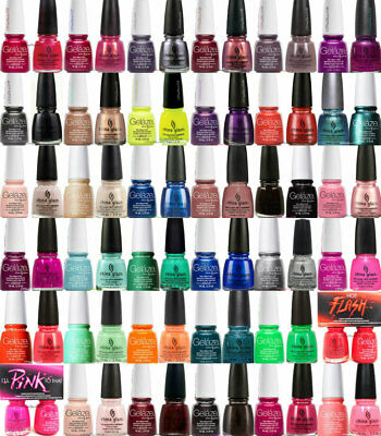 China Glaze Nail Lacquer + Gelaze DUO - Series 1 - Choose any duo