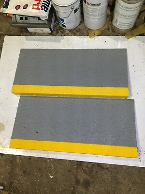 ANTI NON SLIP STAIR STEP COVERS X 2 Industrial Commercial Edging Edges