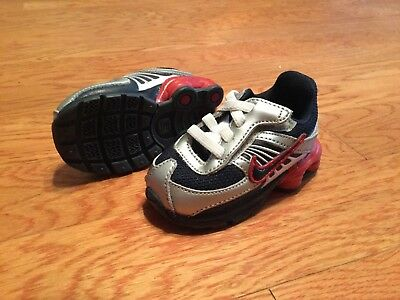 New Nike Shox Turbo 8 Athletic Shoes Sneakers 344934-442 Sz 3 Baby Boys Toddler