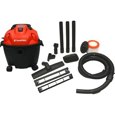 ToolPRO PORTABLE WORKSHOP WORK SHOP VACUUM CLEANER - Wet/Dry VAC 10 Litre 1200W
