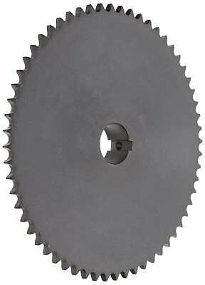 Tsubaki 40B16F-1 Finished Bore Sprocket, Single Strand, Inch, #20 ANSI No., 1/2""