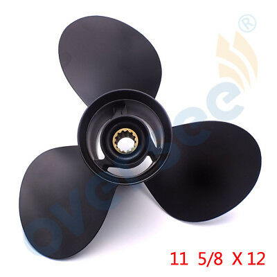 New 58100-88L31-019 OUTBOARD PROPELLER 11 5/8 x 12 12P DF40A/50A/6 For Suzuki