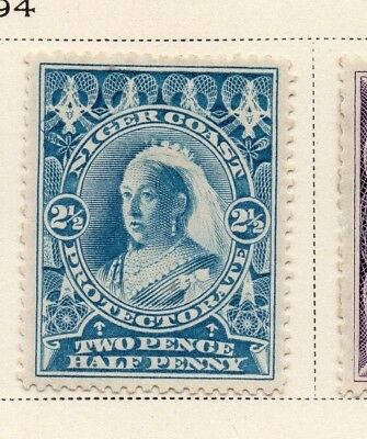 Niger Coast Protectorate 1894 Early Issue Fine Mint Hinged 2.5d. 211488