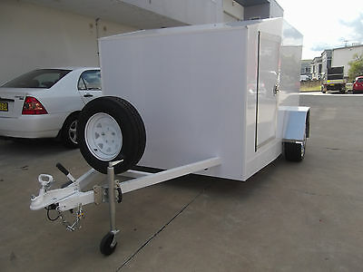 Motorcycle trailer.