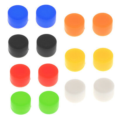 2x Thumbstick Silicone Bullet Buttons for Sony PlayStation 4 PS4 Controller