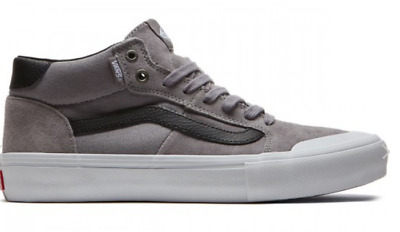 80196183e4beae NIB VANS STYLE 112 Mid Pro Frost Gray Men Skate Sneakers Shoes 9.0