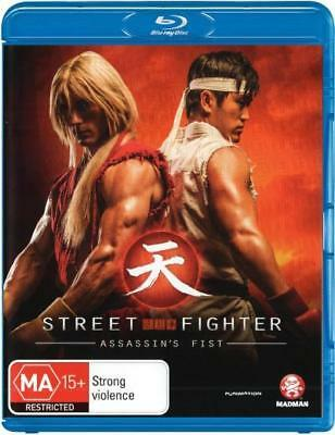 Street Fighter Assassin's Fist (Movie Edition) Blu-ray Region B New!