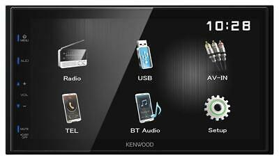 Kenwood DMX110BT Doppel-DIN MP3-Autoradio Touchscreen Bluetooth USB iPod AUX-IN
