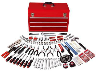 Mechanics Tool Kit 297 Piece 3 Drawer Tool Box Small Engine Mechanical Repair