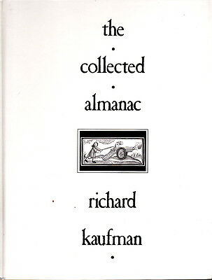 The Collected Almanac by Richard Kaufman Magic Book-1st Ed-Coins Cards Close-Up