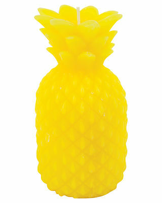 New Sunnylife Women's Large Pineapple Candle Yellow