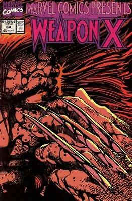 Marvel Comics Presents 84 Weapon X  Unread Bag & Boarded comic book