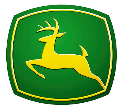 John Deere Logo Decal Stickers Car Tractor Farm Green Yellow 30002