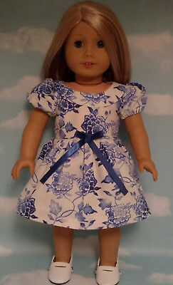 """Dress handmade to fit 18"""" American Girl Doll 18 inch Doll Clothes 8b"""