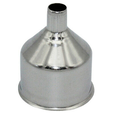 KQ_ Sturdy Portative Stainless Steel Funnel for Hip Flasks Flask Wine Pot Flagon