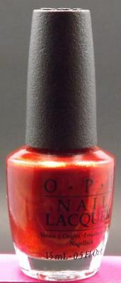 O.P.I. opi Nail Lacquer # NL R53 My Affair In Red Square