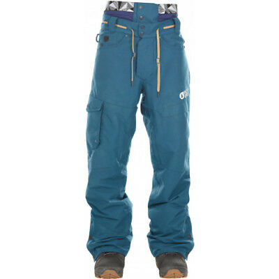 Picture Organic Under Mens Pants Snowboard - Petrol Blue All Sizes