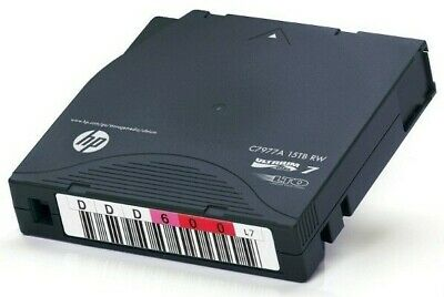 HP ENTERPRISE 5 x LTO7 ULTRIUM 6.0TB / 15TB RW DATA CARTRIDGE (C7977A)