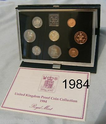1984 Great Britain Proof Coin Set
