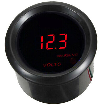 2Inch 52mm Car Truck Universal Auto Digital LED Volt Voltage Meter Gauge Tools