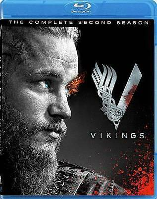VIKINGS the Complete Second Season Blu-ray ~ MINT Opened but Never Played