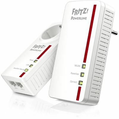 AVM FRITZ!Powerline 1260E WLAN Set 1200 MBit/s 1x LAN 10/100/1000 / (20002795)
