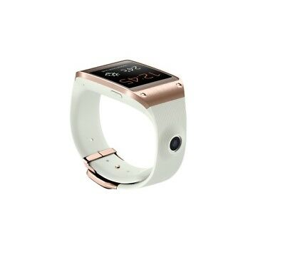 Samsung Galaxy Gear in Weiß-Gold Smartwatch Dummy Attrappe - Requisit, Werbung