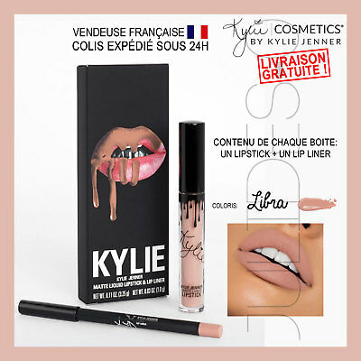 TOP QUALITÉ Maquillage Mat Matte make up Lip kit KYLIE JENNER Lipstick LIBRA
