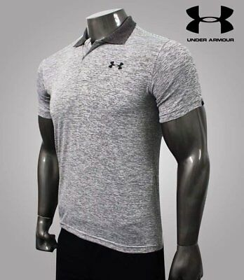 Under Armour Herren Poloshirt Performance Hellgrau M L XL