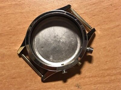 herren chrono case stahlboden for parts or repair